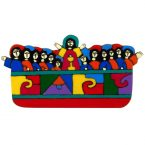 56. Last Supper Plaque 13 x 7cm