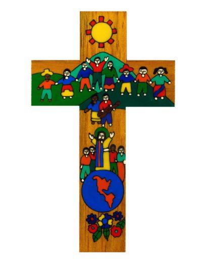2 Children of the World united cross - Available in 10cm,15cm, 25cm, 40cm, 63cm