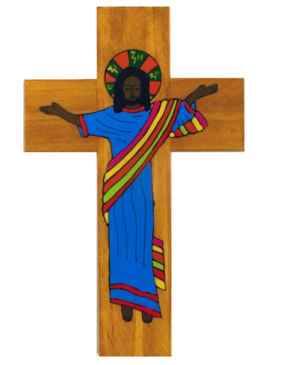 22 Living Christ cross   - Available in 20cm