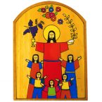 47. Holy Communion Plaque 14 x 19cm