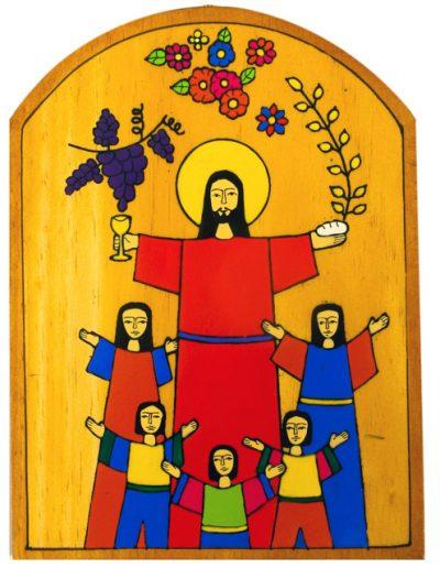 47 Holy Communion Plaque 14 x 19cm