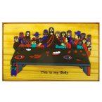 48. Last Supper Plaque 20 x 12cm