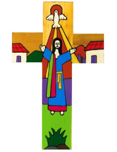 7 Risen Christ cross - Available in 15cm, 25cm, 40cm