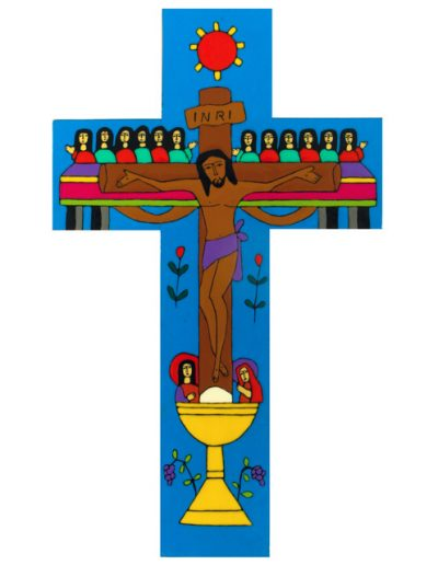 77 Last Supper cross - Available in 25cm