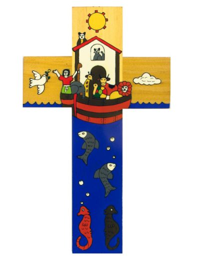 79 Noah's Ark cross -  Available in 12cm, 25cm, 40cm