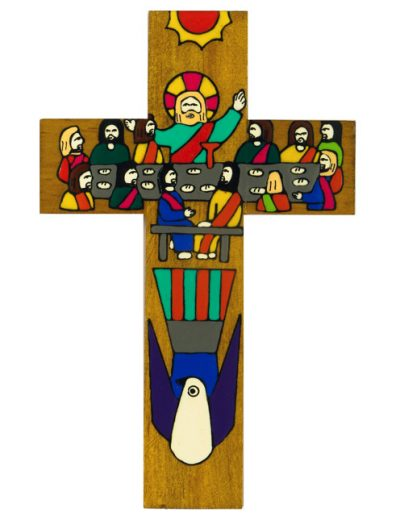 8 Last supper cross - Available in 15cm, 25cm, 40cm