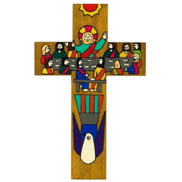 8 Last Supper Cross