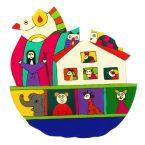 86. Noah's Ark Plaque 20 x 20cm